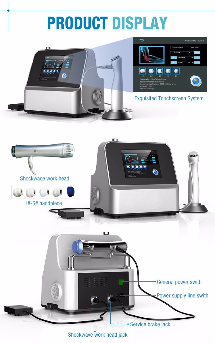 Hot new products for extracorporeal shock waves medical equipments SW8