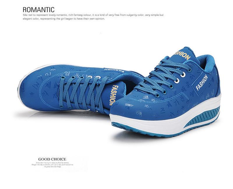 Acquista Comode Scarpe Da Donna Casual Nuovi Arrivi Traspiranti Zeppe Impermeabili Piattaforma Moda Scarpe Da Ginnastica Donna Sneakers A $28.53 Dal
