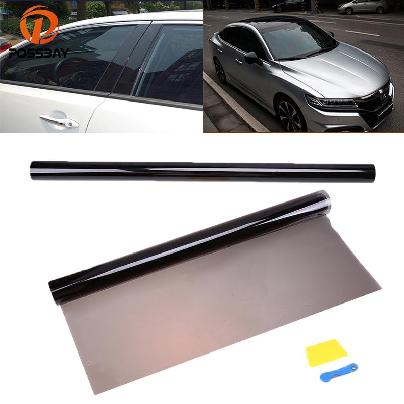 25/% Transmittance Car Window Shade Film Solar Window Film Universal Vehicle Wrapping Film Cover for Sunroof Windows 75 x 600cm Automotive Van SUV Window Tint Film Sticker