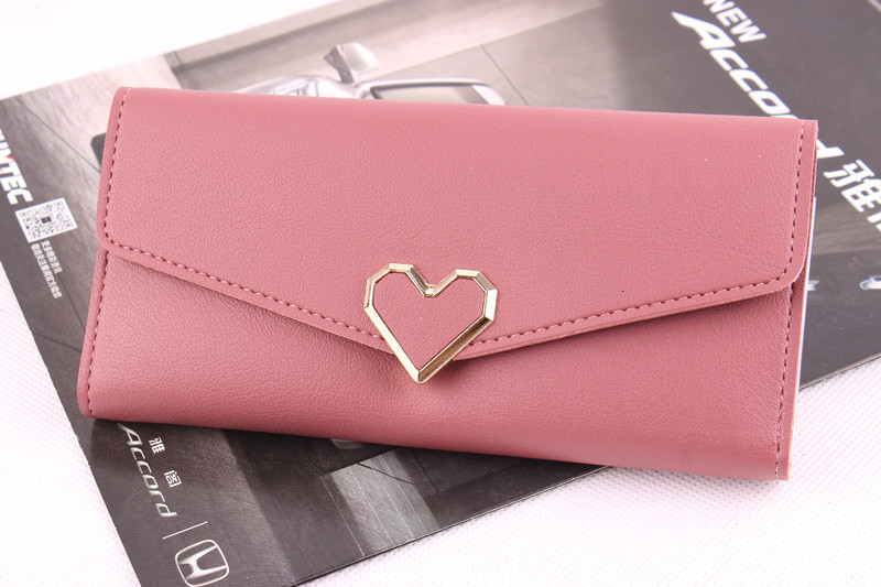 Wholesale-2018 Europeans and Americans fashion confectionery color female student money clip long woman purse carrying bag