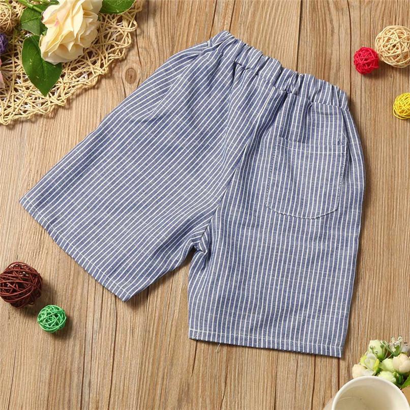 Summer Boys Clothes Toddler Kid Baby Boys Cartoon Printing T-shirt+Short Pants Clothes Outfits Set NDA84L18 (1)