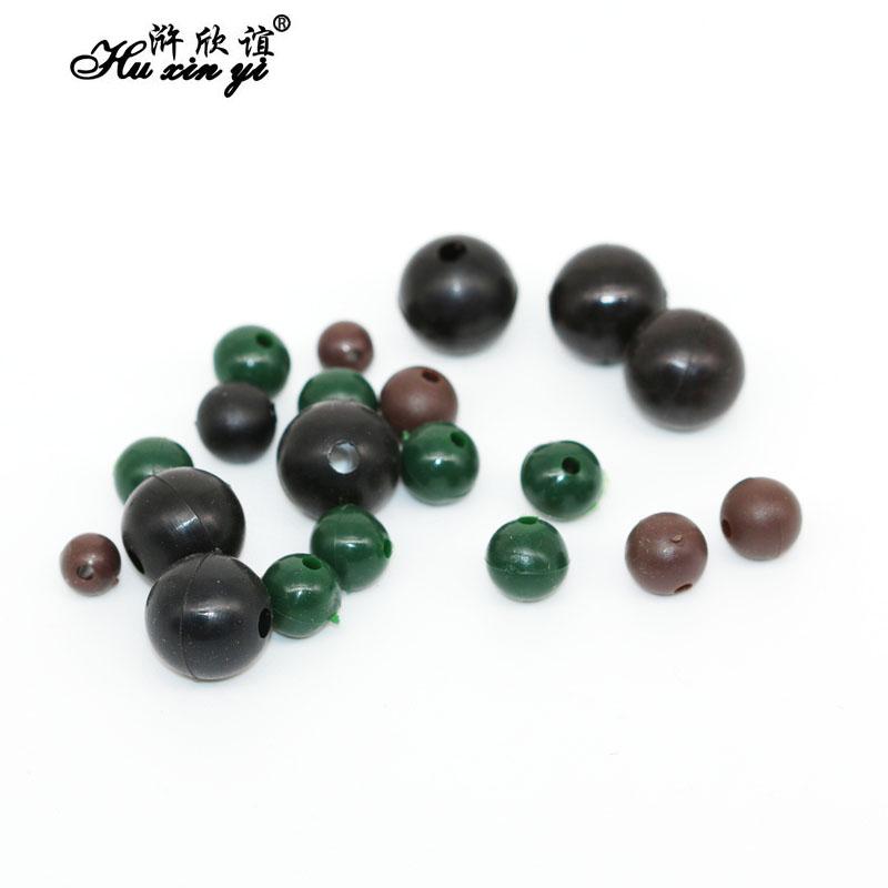 Karpfenangeln Runde weiche Gummikugeln schwimmende Rig Perlen Terminal