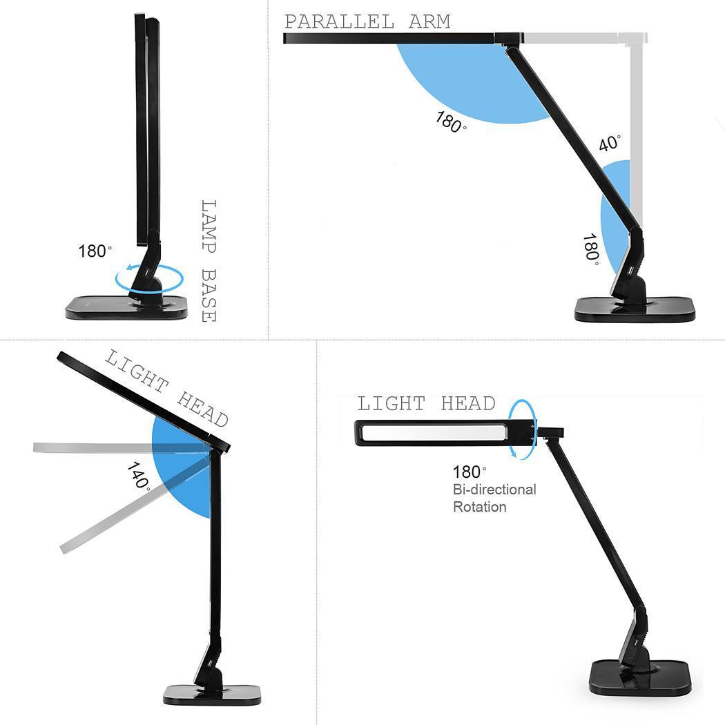 Nuevas De Lámpara Coocheer Regulable Modos Compre Regulador LED Niveles4 De Lámpara 5 Led De De Iluminación Moda A Escritorio Nueva De Mesa Lámparas dWrCoEQxBe