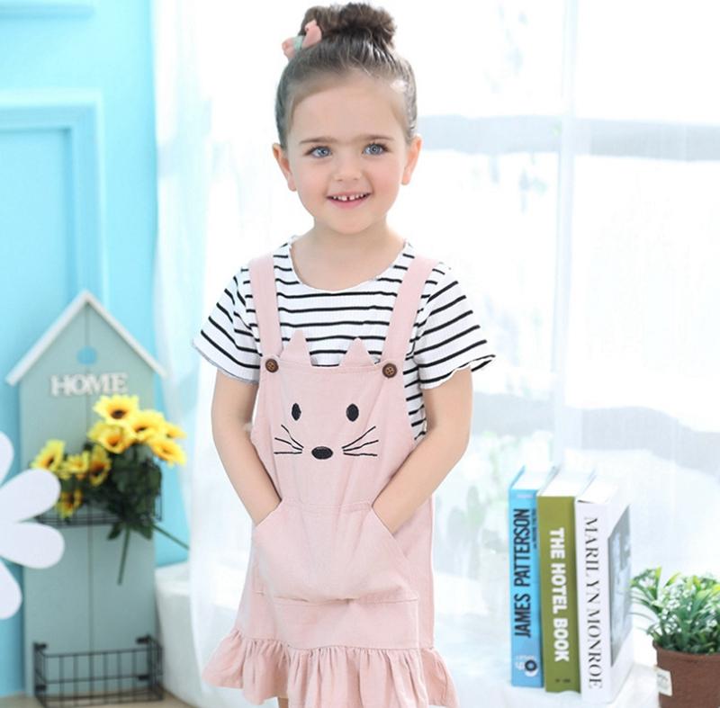 Mini Black Skirt chinatera 2Pcs Kids Girls Fall Outfits Clothes Sets Shirt Top