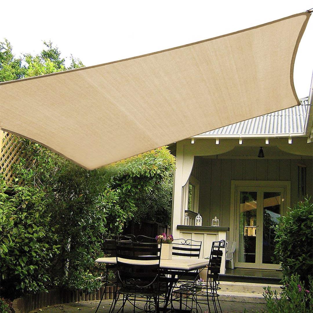 300D Sonne Schatten Segel Garten wasserdichte Überdachung Patio-Abdeckung