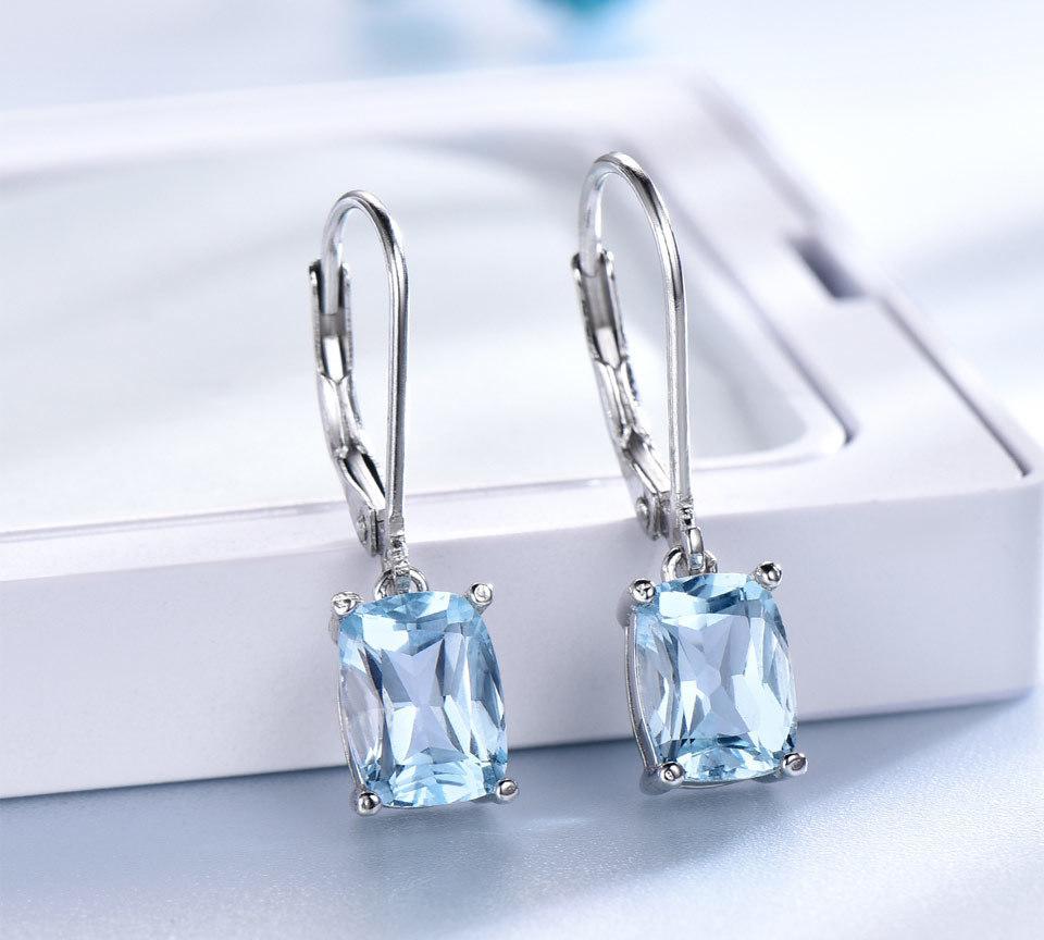 UMCHO Sky blue topaz silver sterling jewelry sets for women EUJ054B-1-pc (5)