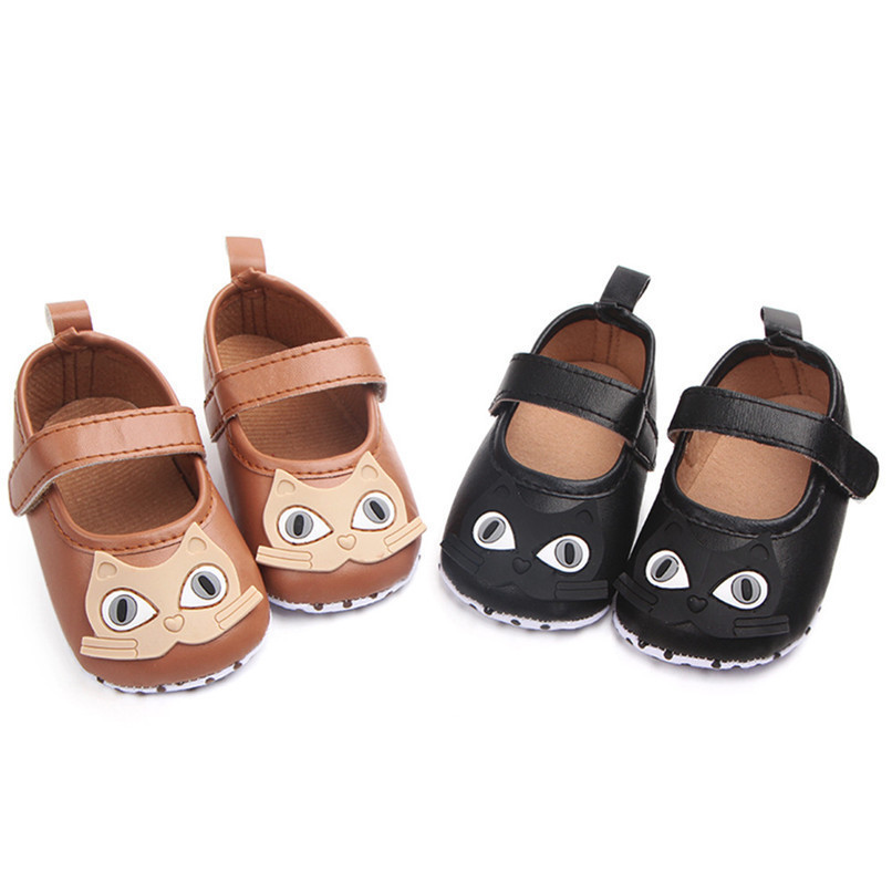 Newborn Baby Girl Cartoon Sneaker Soft Sole Anti-slip Single Shoes First Walker A84L77 (10)