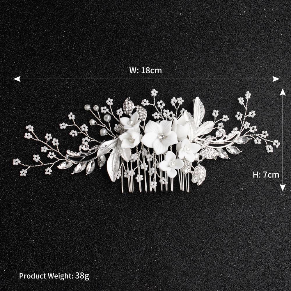 White-Flower-Silver-Leaf-Rhinestone-Hair-Combs-Wedding-Hair-Accessories-Bridal-Women-Pearl-Hair-Ornament-Head (3)
