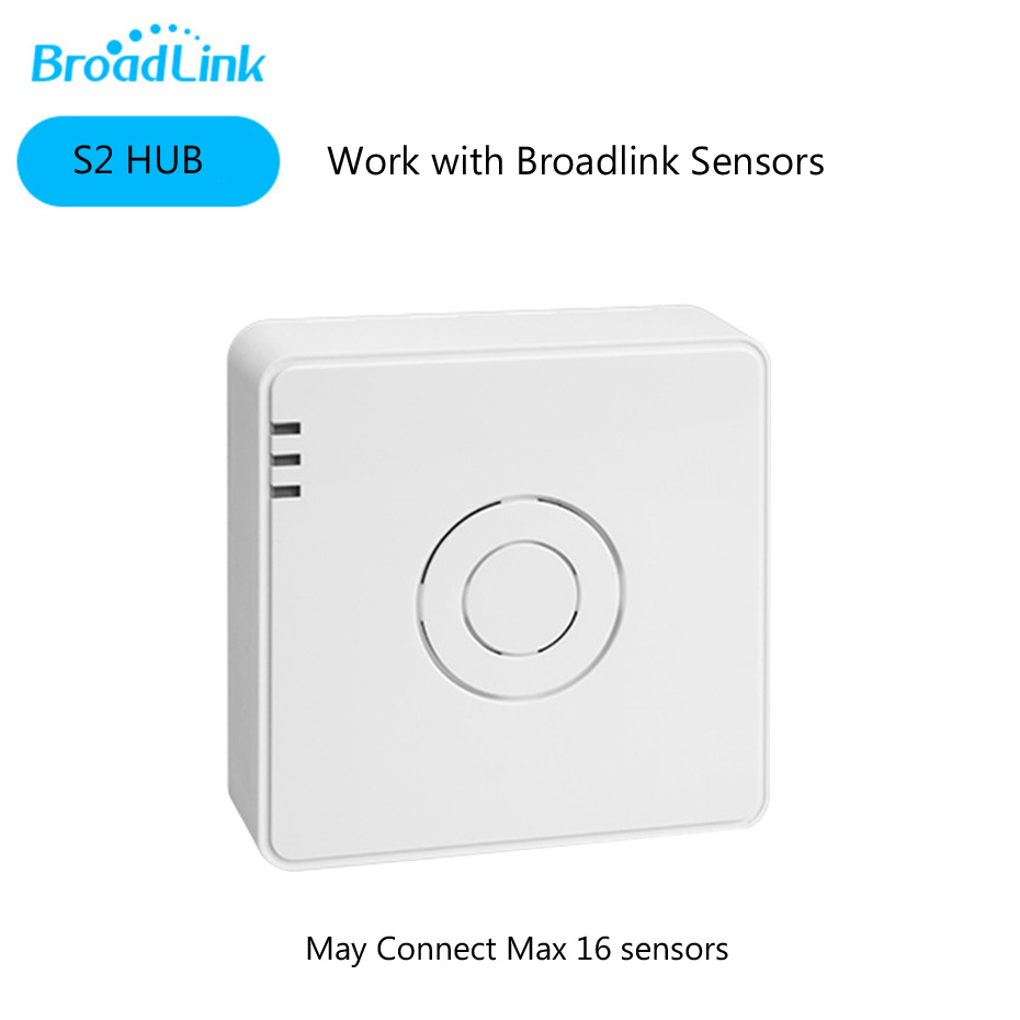 1---Broadlink S2 Host Smart Home Security Alarm Detect Hub WIFI Remote Control Anti-thef Device