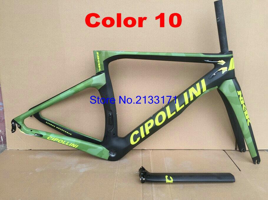 10 Cipollini NK1K 3K Di2 Carbon Bike Frame
