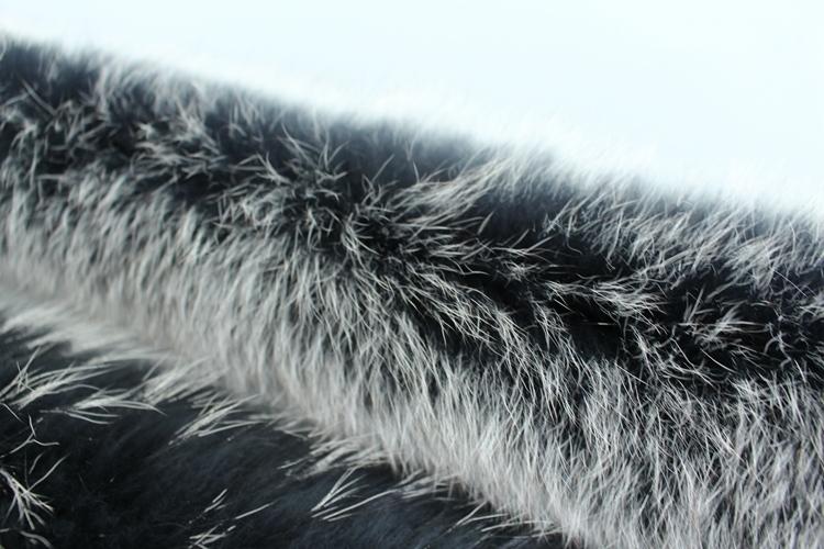 natural real raccoon fur hoody trim collar (4)