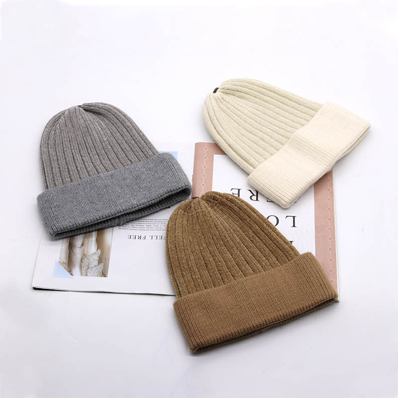 Steak and Pepper Unisex Fashion Knitted Hat Luxury Hip-Hop Cap