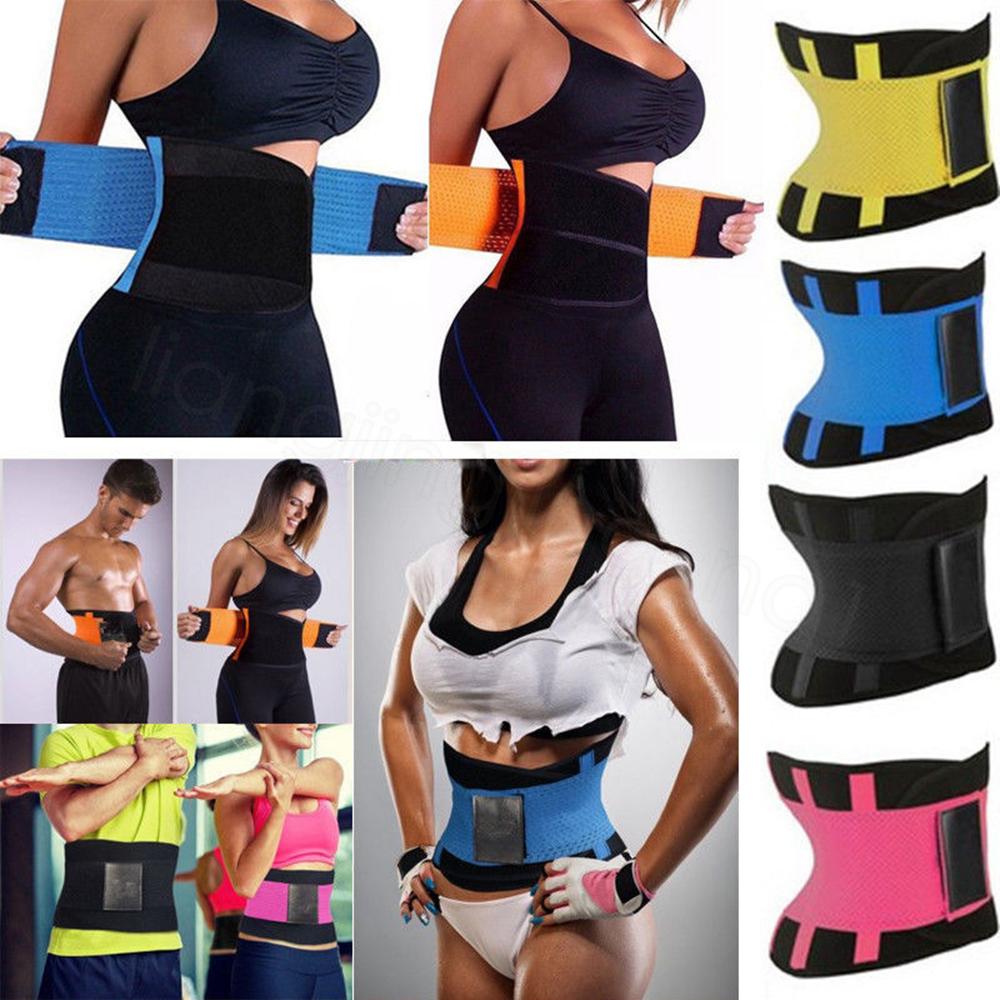 Slimmerbelt Für Männer Frauen Neopren Body Shaper Taille Trainer Übung Schweiß