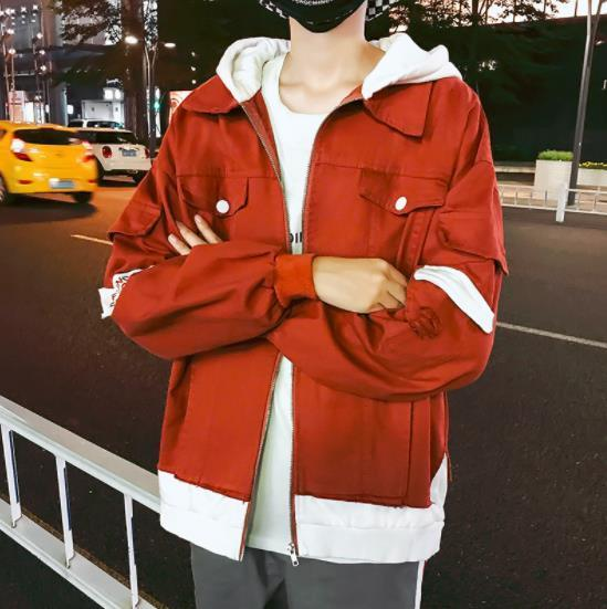 2019 Men Hooded Bomber Jackets Mens Streetwear Hip Hop Windbreaker chaqueta hombre Male Korean Fashion Autumn Jackets Coats