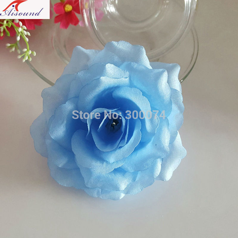 Artificial flowers blue for wedding arch