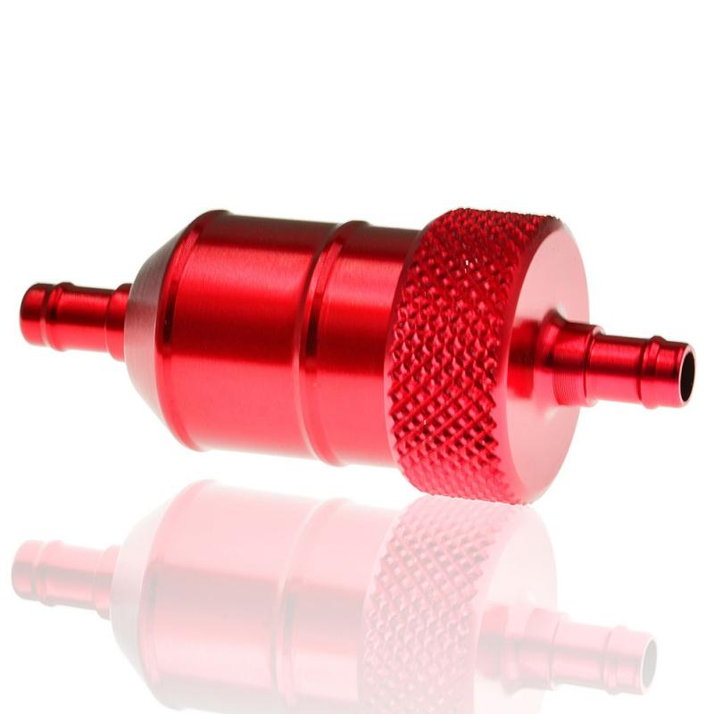 10pcs Universel gros Essence Inline Filtre à carburant Auto voiture partie Fit 6 mm 8 mm Tuyaux