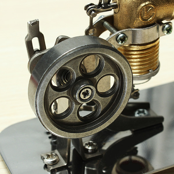 Stirling engine birthday present Mini model puzzle Scientific experiments equipment High temperature physical toy3