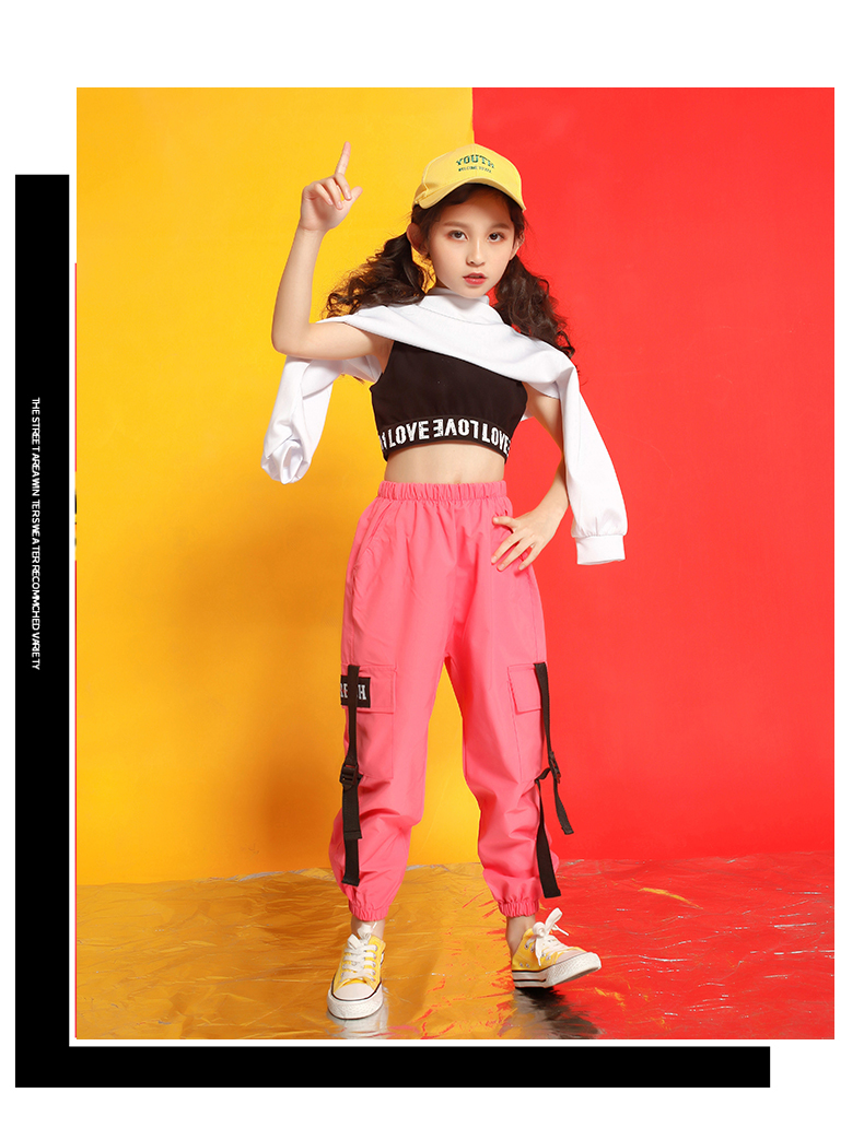 Girls boutique outfits 4 6 8 10 123 14 16 18 Years hip hop hoodies sweatshirts kids costumes girls kids summer clothes (9)
