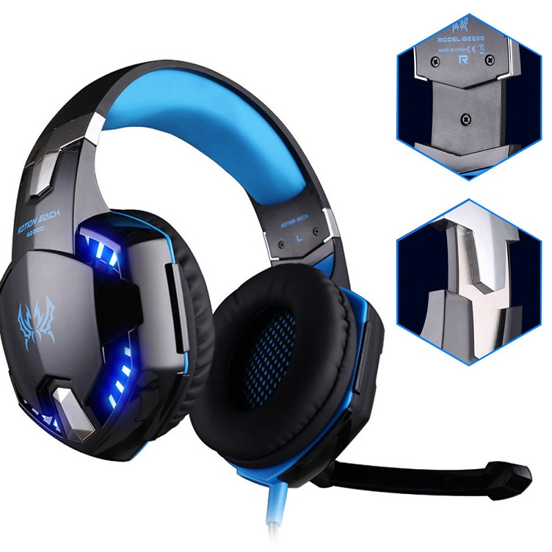 SY830 Computer Headphone Game Glowing Headphones 7.1 Channel High Sound Quality Gaming Game Headset