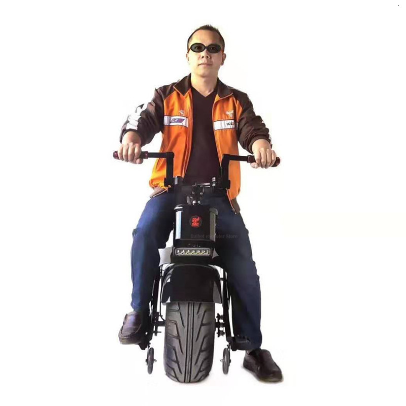 Daibot Electric Unicycle With Seat 18 Inch One Wheel Self-balancing Motorcycle Adults Electric Scooter 1000W 60V 90KM (27)