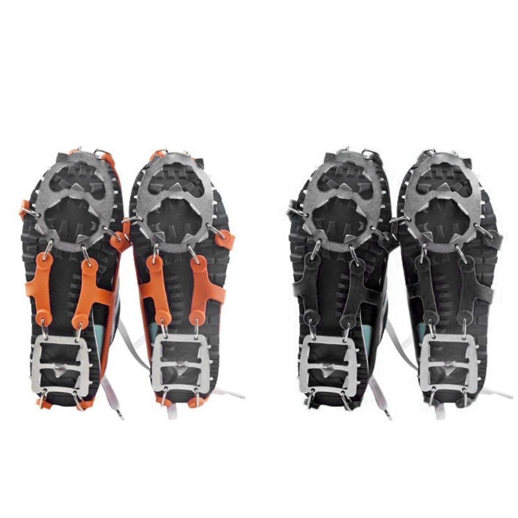 Fashion New 18 Tooth Climbing Shoe Covers Spikes Anti-Skid Outdoor Camping Ice Crampons New Ice Crampons