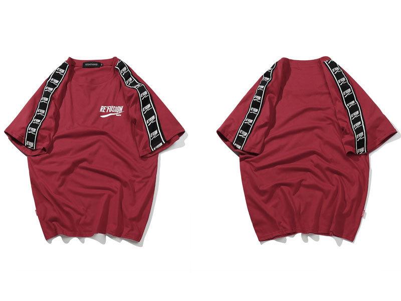 Ribbon Sleeve T-Shirt 6