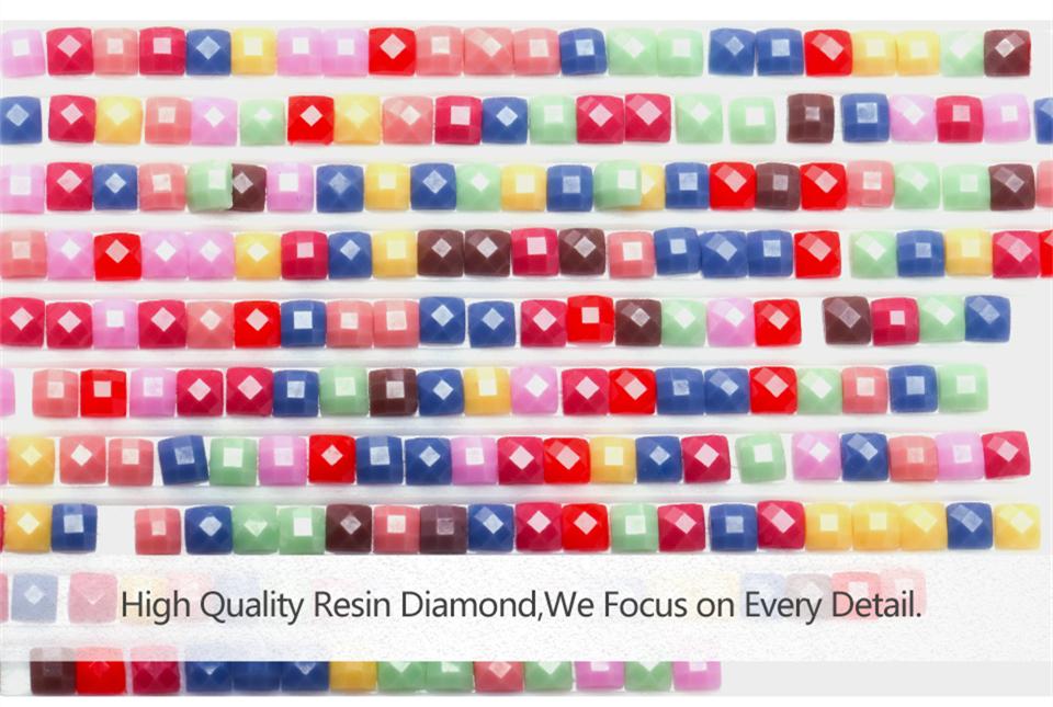 HUACAN 5D Diamond Painting Cross Stitch Diamond Embroidery Cat Full Square Rhinestones Pattern Home Decoration Needle Craft&Art (1)