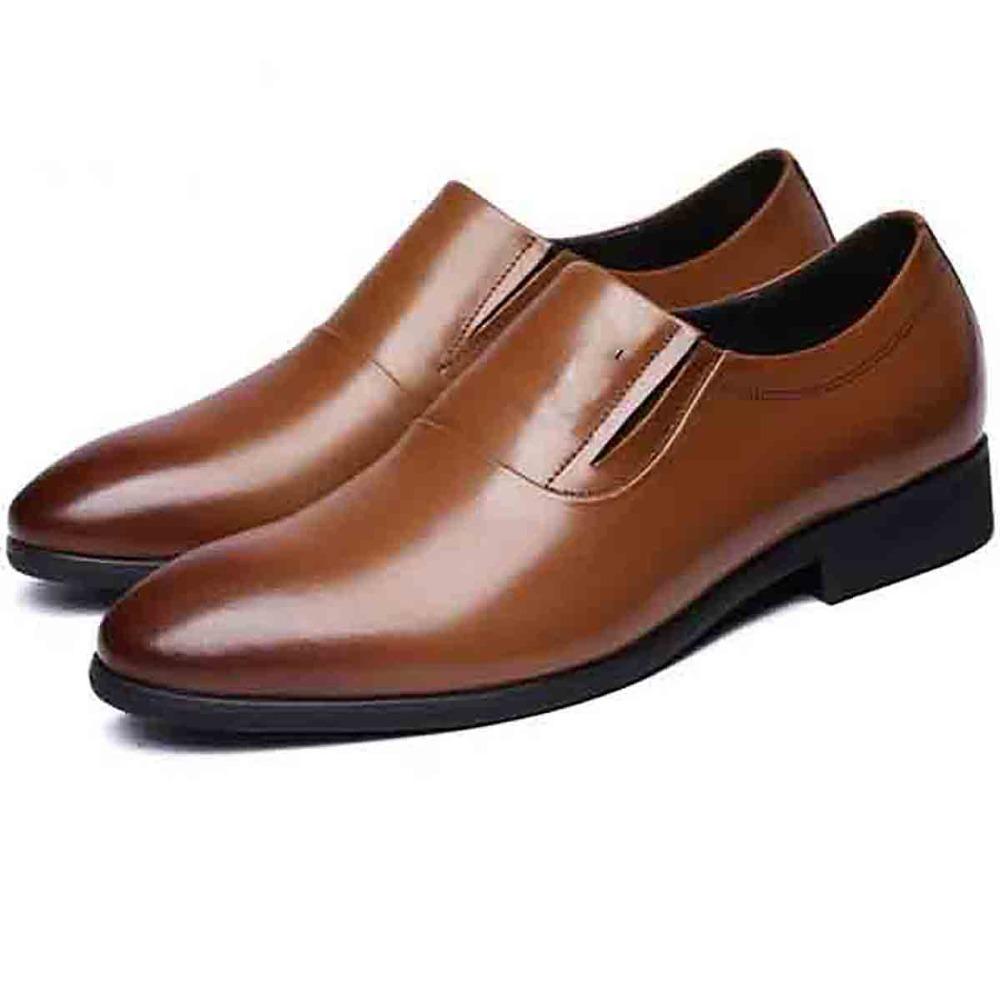 Cuir De Vachette C Est Quoi vente en gros chaussures pour costume noir 2020 en vrac à