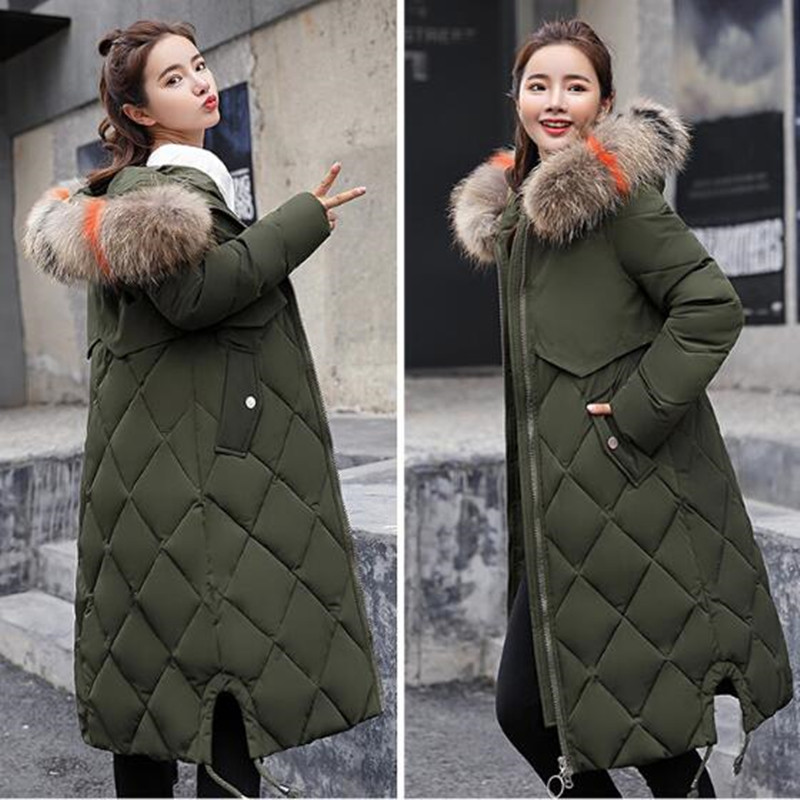 Long Winter Coats for Women with Fur Hood,Women Ladies Winter Hooded Zipper Pocket Lapel Loose Hairy Cotton Clothing Coat