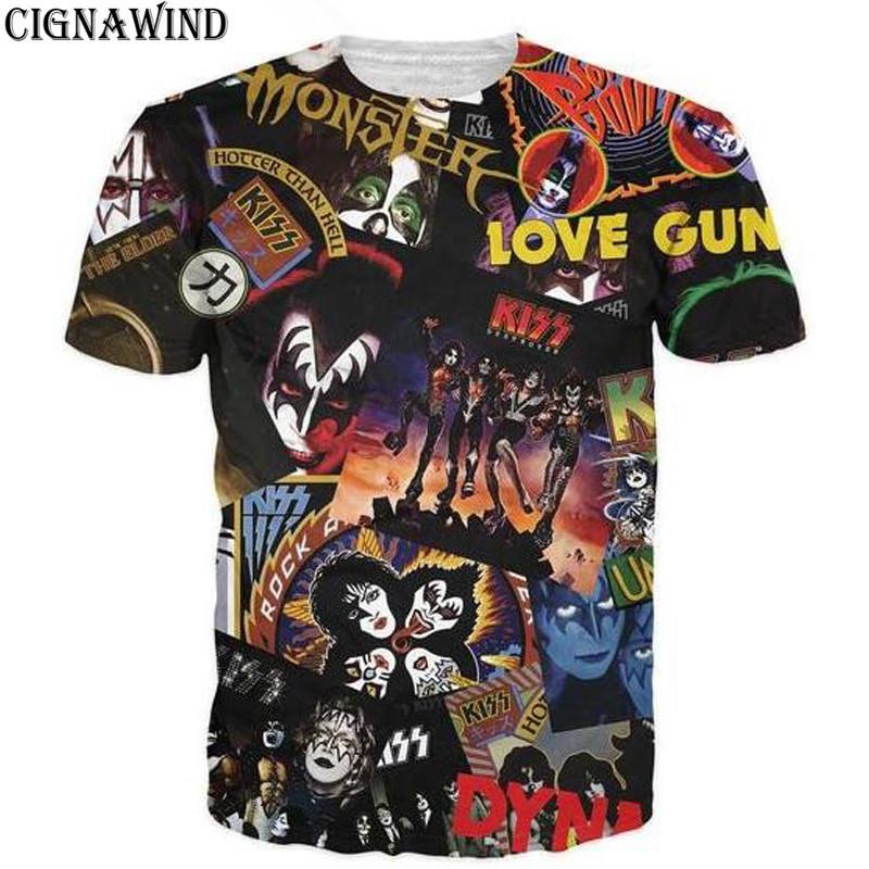 New-Fashion-Kiss-rock-band-design-printed-3D-t-shirt-Men-women-hip-hop-t-shirt (3)