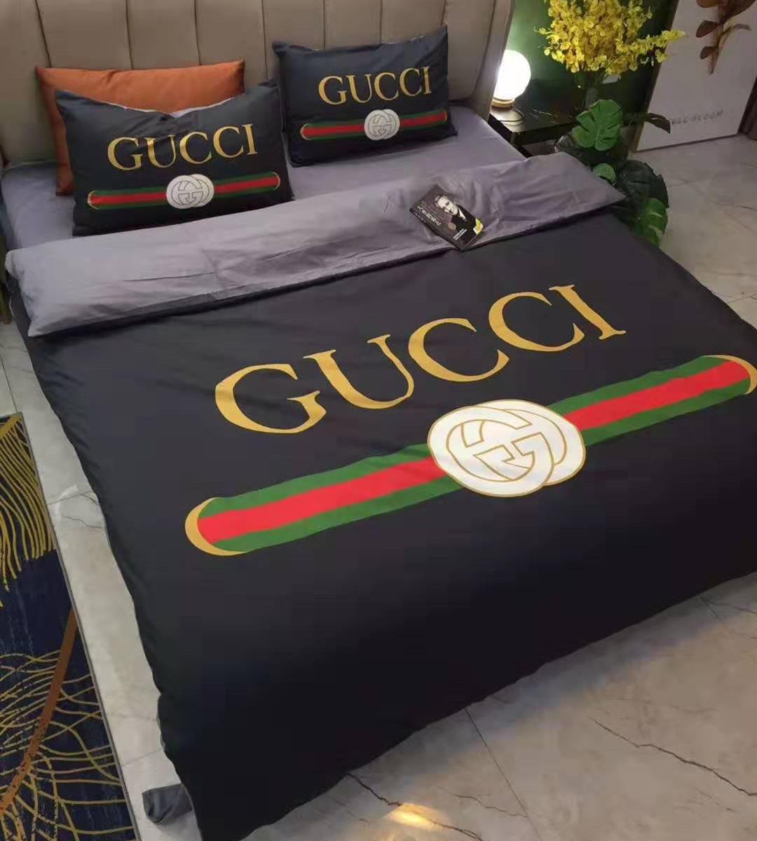 Lenzuola Matrimoniali Gucci.Sconto Set Di Biancheria Da Letto In Stile Europeo 2020 Set Di