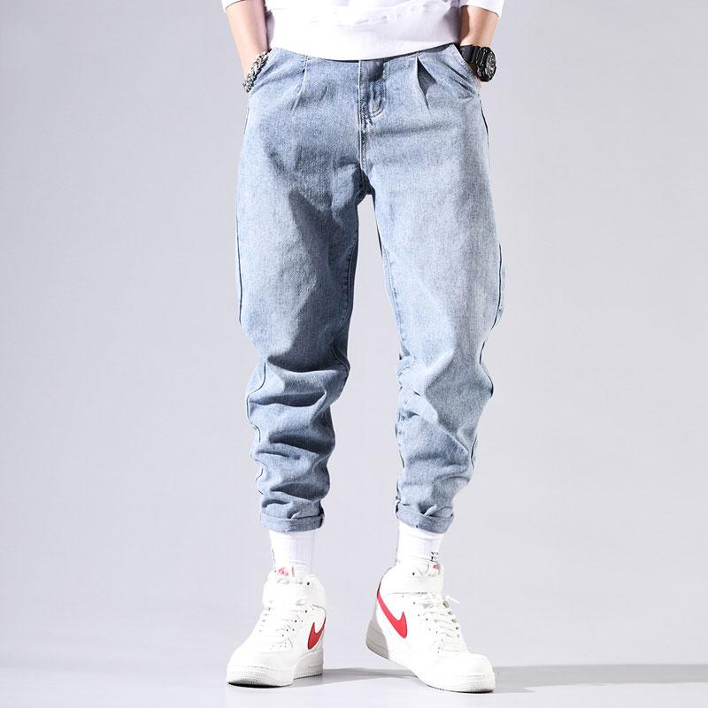 Da Uomo Eto Jeans Affusolati Fit Strappato Jeans A Lavaggio Scuro Colore tutte le dimensioni