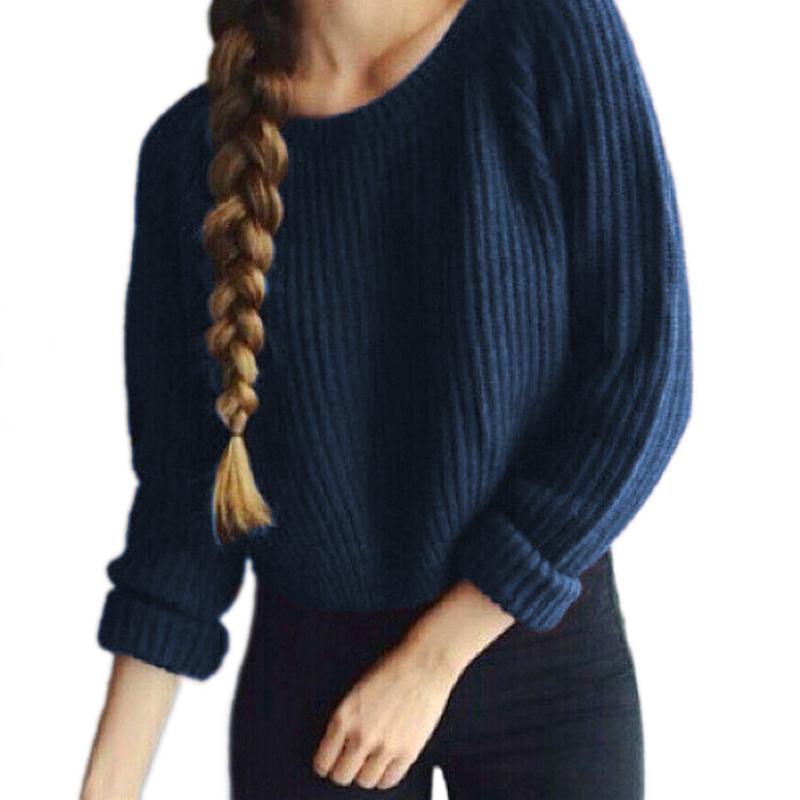 FEITONG Sweater Abbigliamento Donna Pullover Camicia Manica Lunga Camicia di t Sciolti