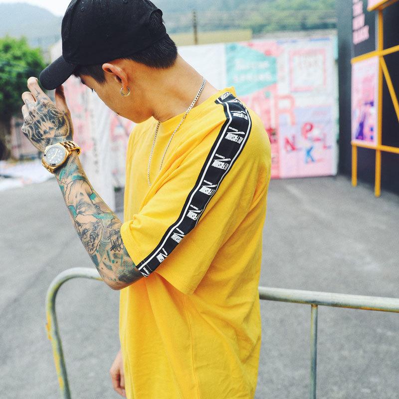 Ribbon Sleeve T-Shirt 2