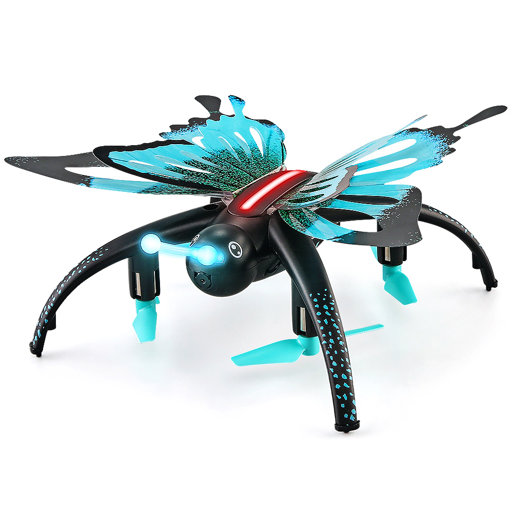 RC Quadrocopter JJRC H42WH Butterfly Mini RC Drone RTF WiFi FPV 0.3MP Camera Voice Control Waypoints RC Drone Quadcopter Toy