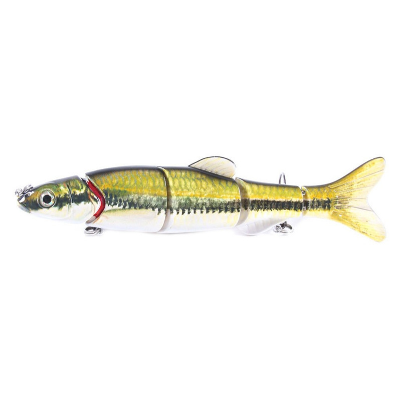 1PC Fishing Lures 15.5CM Plastic Hard Bass Baits 5 Colors Lures fake fishing bait #2G30 (11)