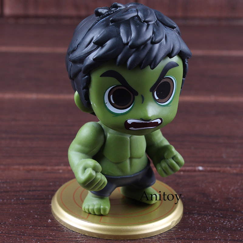 Marvel Avengers Infinity War Hulk Tree Man Bobble Head Action Figure PVC Car Decoration Collectible Model Toy