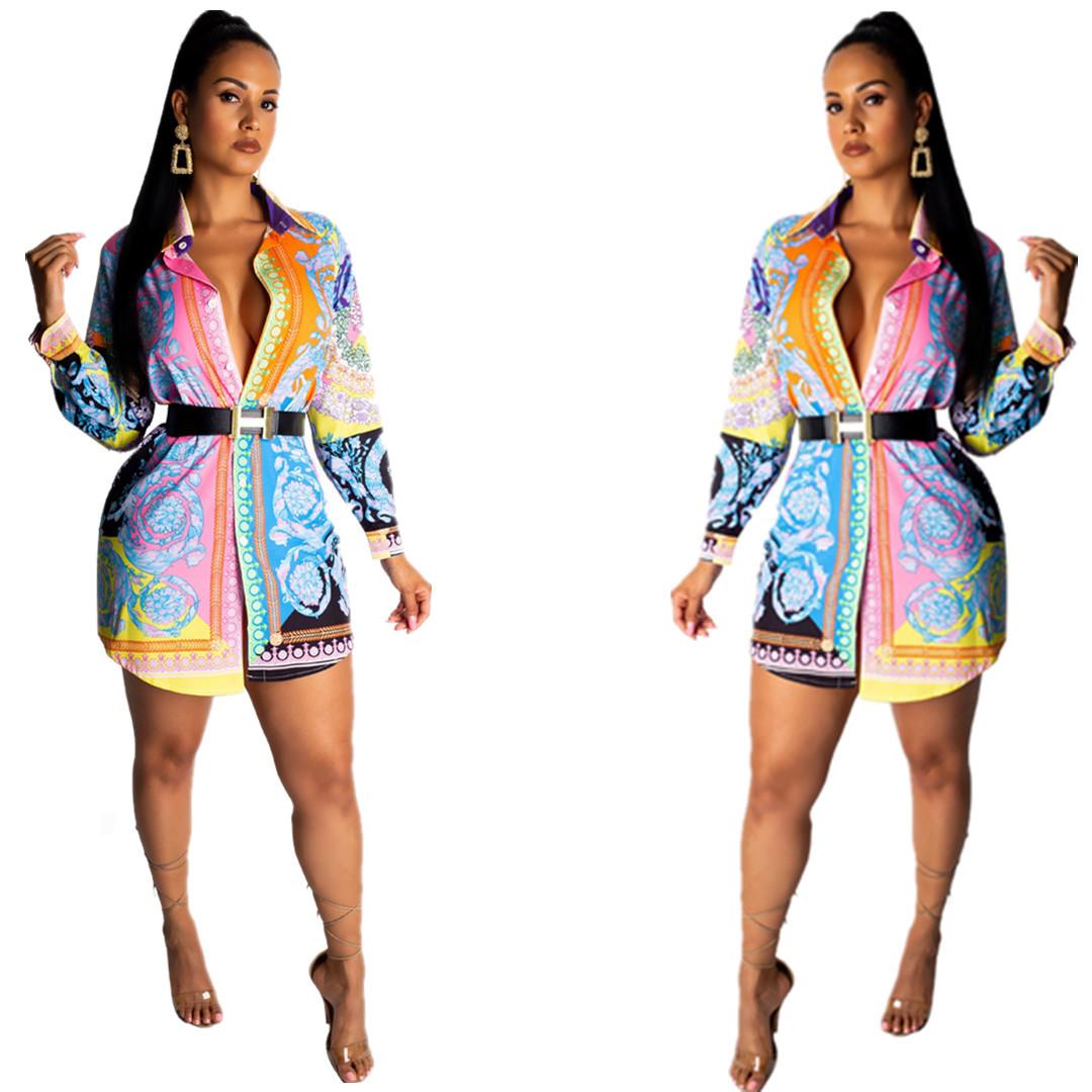 sexy drucken figurbetontes kleid frauen-sommer-weinlese-elegante  minikleid-partei-verein long sleeve plus size-shirt-kleid-größe s-xxxl