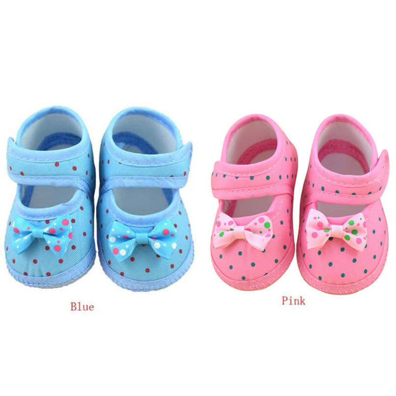 Fashion Baby Girl First Walker Kids Bowknot Boots Soft Crib Shoes NDA84L16 (2)