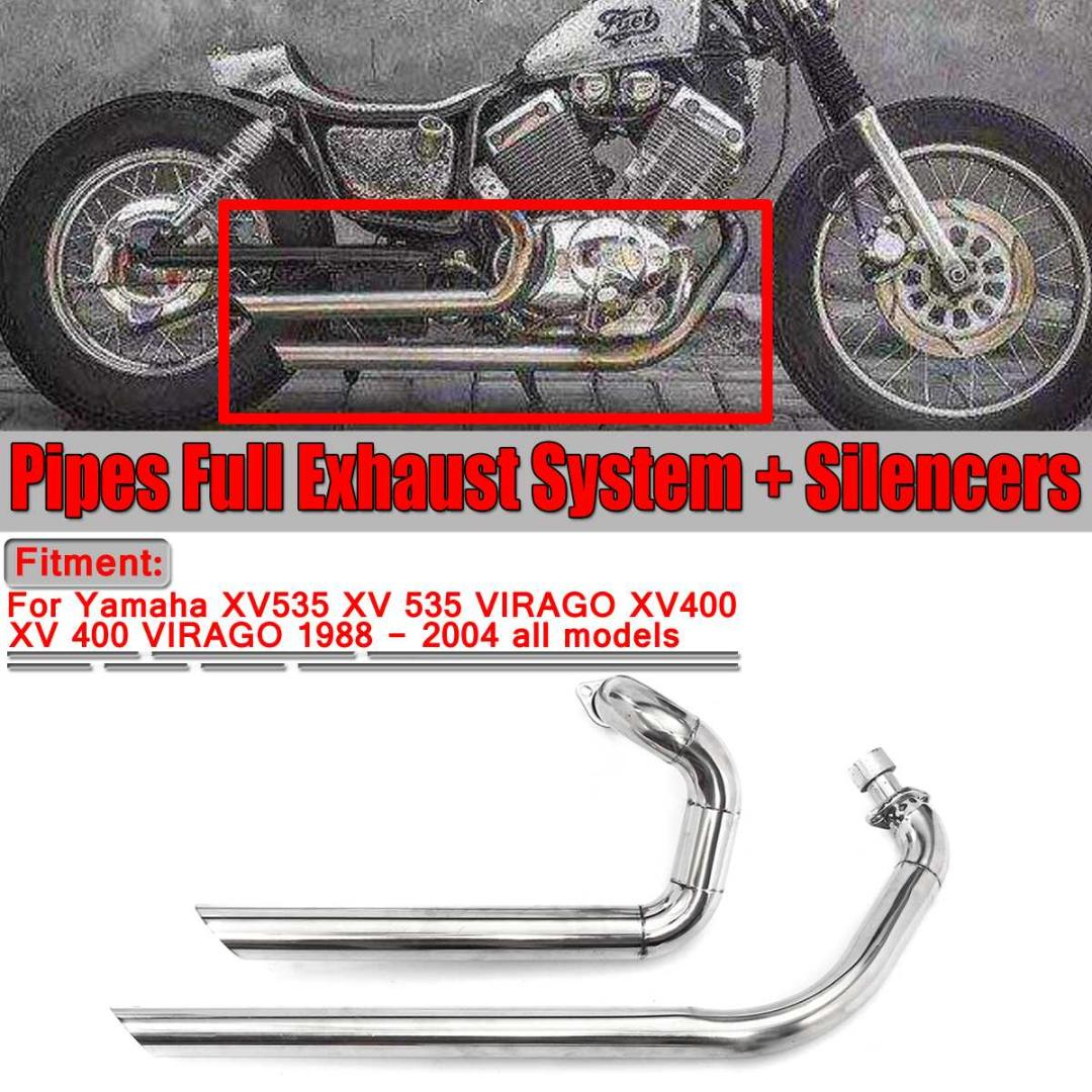 /2003 Copertura laterale cromato Yamaha Virago XV250//& XV535/1988/