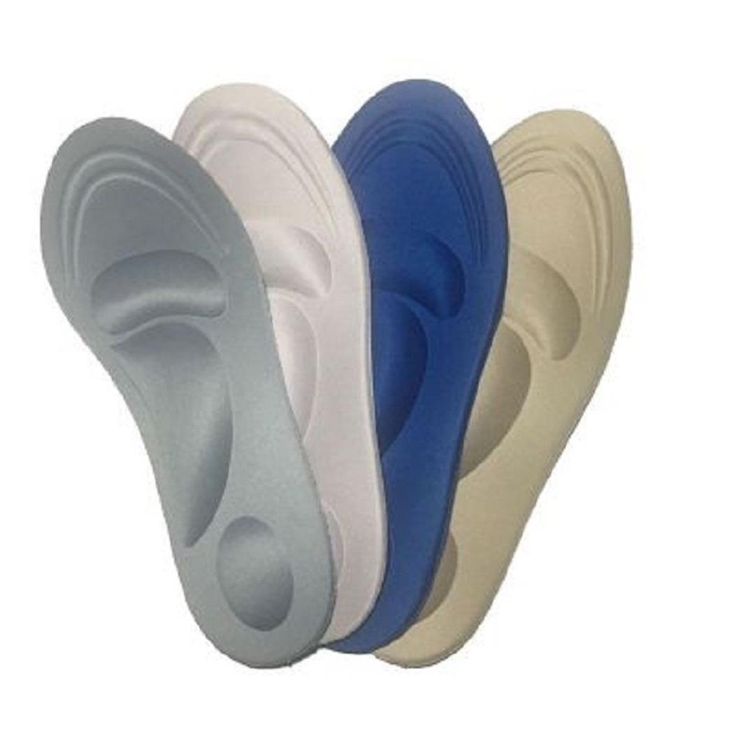 Новая Мода 4D Спорт Губка Мягкая Обувь Стельки Облегчение Боли Вставка Подушки Удобные Колодки Мода Новая Облегчение Обуви Стельки Обуви
