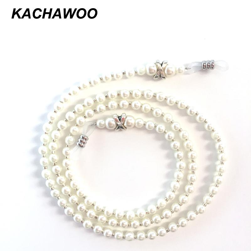 Lunettes de soleil chaîne de perles cou Bande Cordon Porte-lunettes Lunettes Bracelet Fashion New