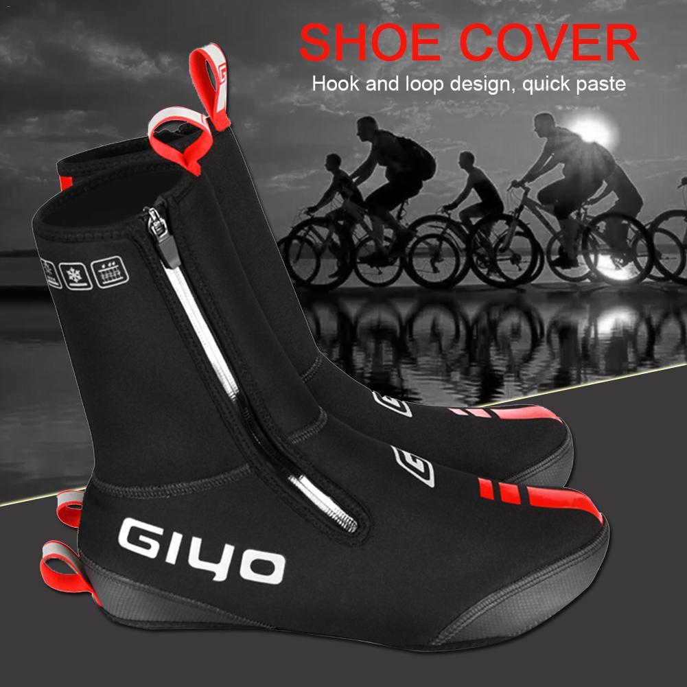 Waterproof Cycling Mountain Bike Overshoes Windproof Riding Shoe Cover Gender