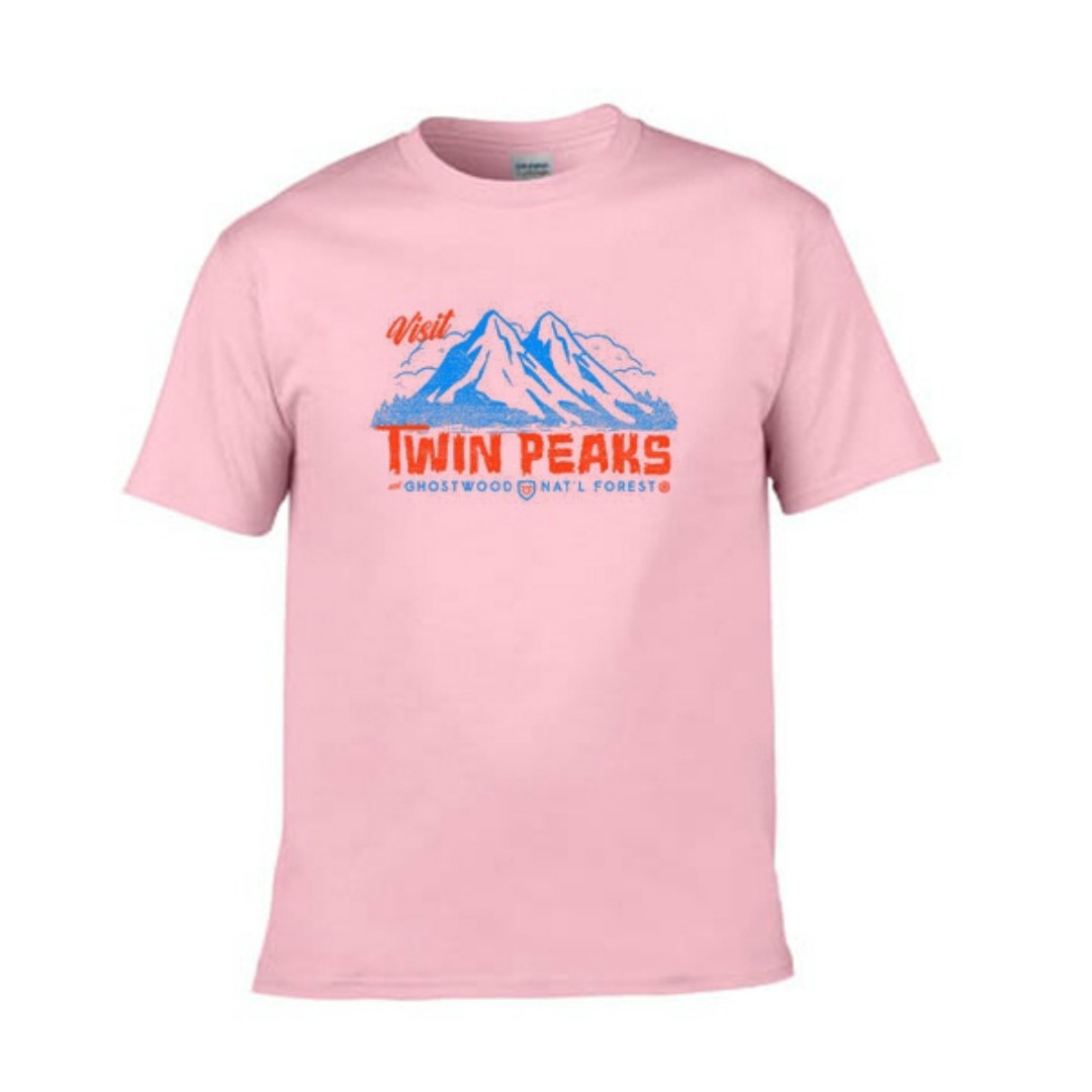 f5cd08687 ... 90s Style Twin Peaks Women Grunge Cute Graphic Tee Casual tshirts Short  Sleeved Summer Tops Tees
