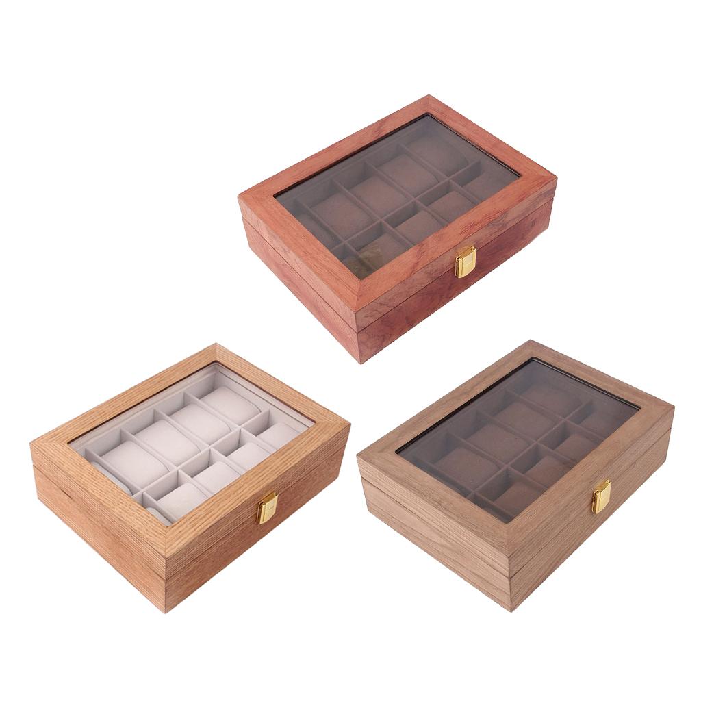 Conservation Caisse Coffret encadré Box Coffre de rangement métal bois antique