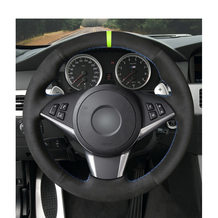 Hand-stitched-Black-Suede-Car-Steering-Wheel-Cover-for-BMW-E60-530d-545i-550i-E61-Touring.jpg_50x50-1