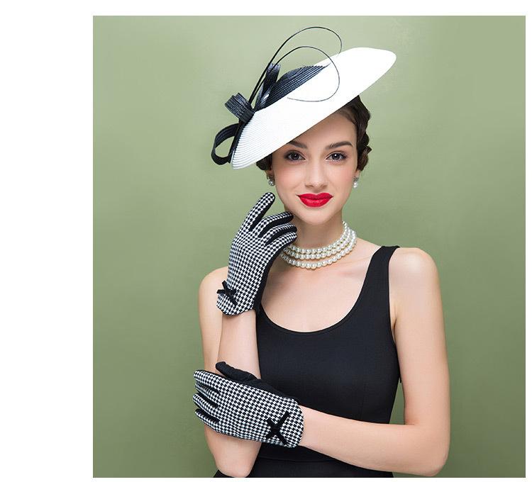 chapeau femme mariage fascinateur