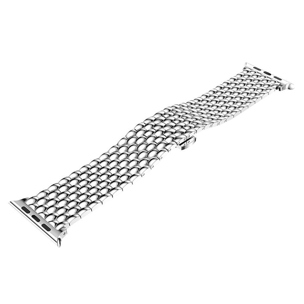 Shellhard Luxury Stainless Steel link bracelet band For Apple Watch Series 1 2 3 4 Durable iwatch Stainless Steel Strap 38/42mm