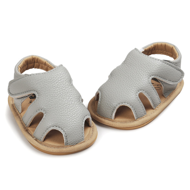 3 Color Summer Fashion Toddler Infant Kids Baby Boys Girls Solid Sandals Casual Anti-slip Soft Sole Shoes Sneaker M8Y02 (22)