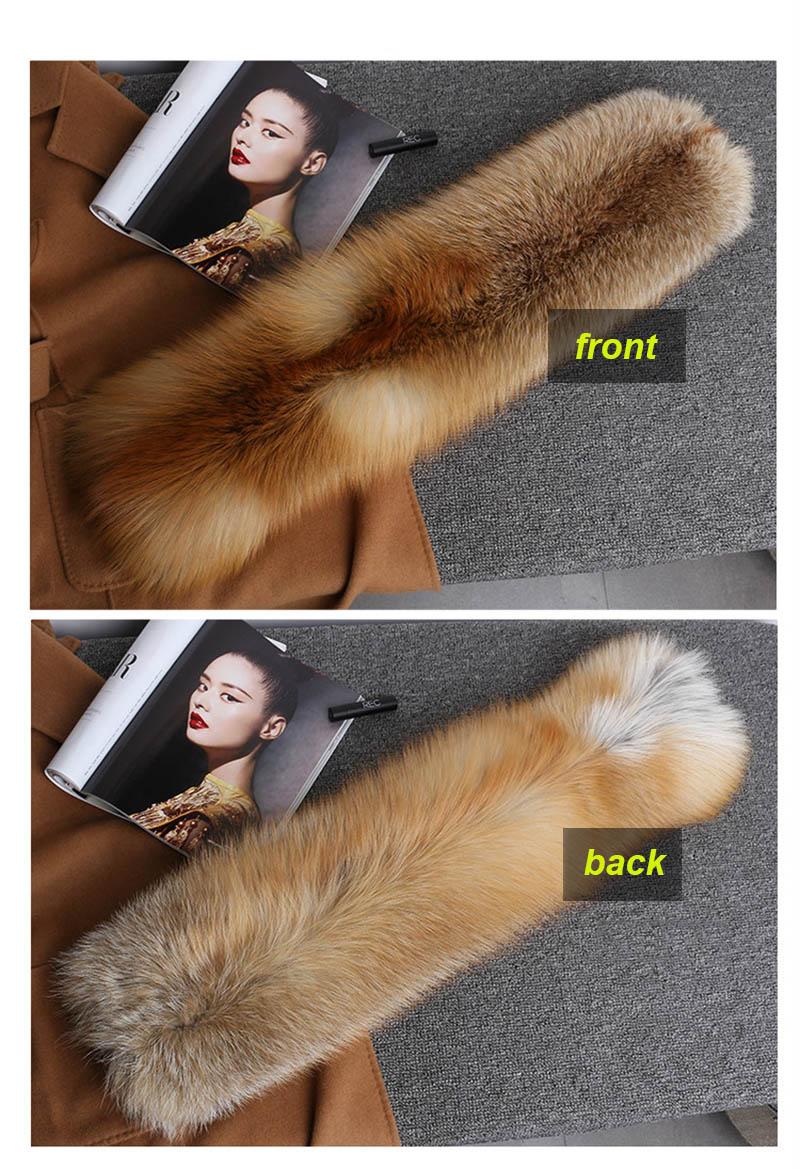 fox fur scarf silver fox 4